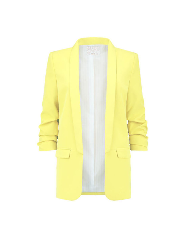 Aaiko Pins Blazer Fresh Yellow