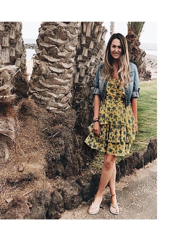 Aaiko Christa Fresh Yellow Dress