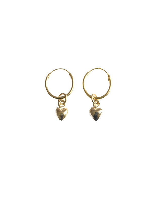 Bobby Rose Classic Heart Earring