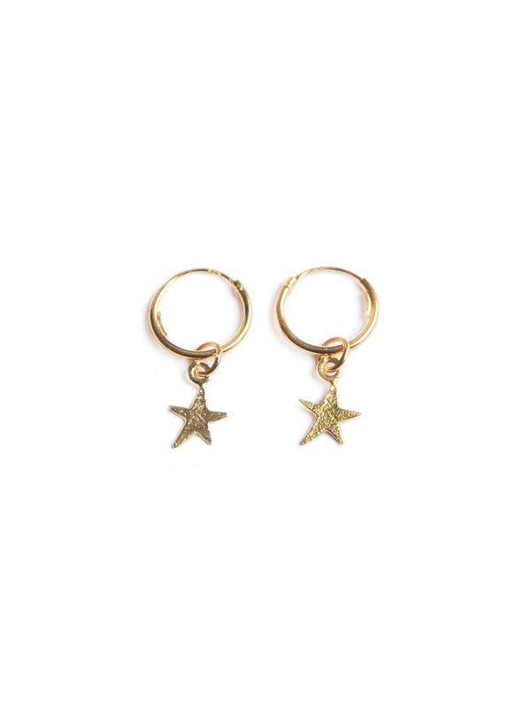 Bobby Rose twinkle star earring