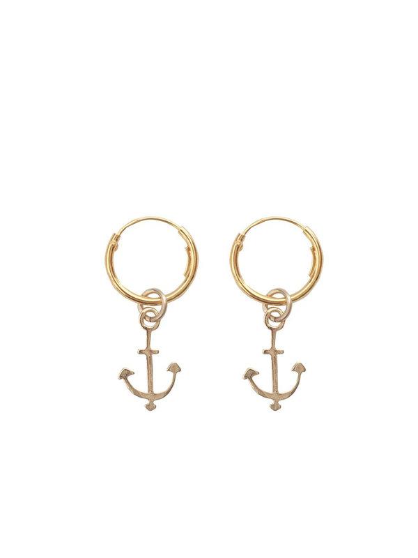 Bobby Rose Anchor Earring