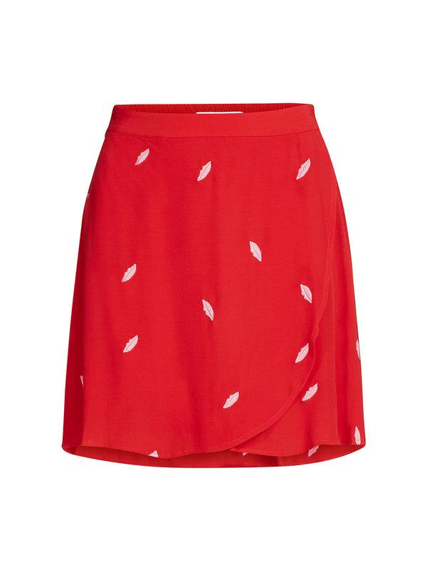 Fabienne Chapot Eyeland Skirt Red Pink