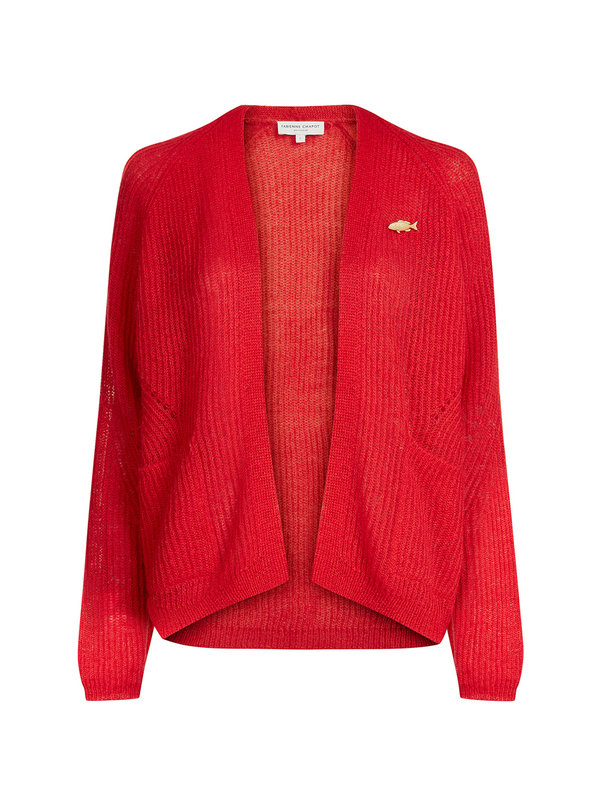 Picnic Cardigan Romance Red