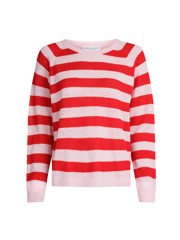 Fabienne Chapot Clio Pullover Red & Pink