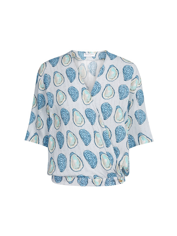 Fabienne Chapot Vera Top Ice Blue Oyster