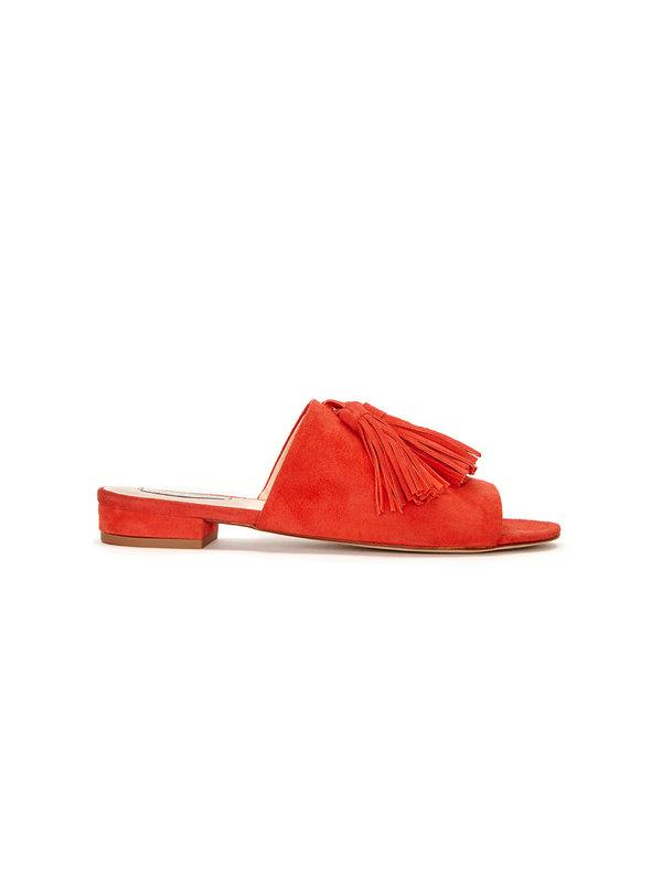 Fabienne Chapot Sunset Sandal Suede Orange