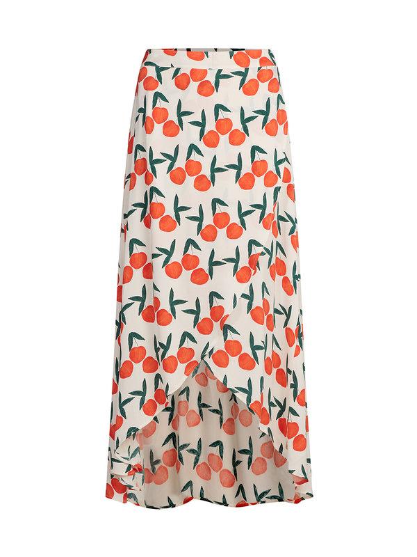 Fabienne Chapot Cora Godess Skirt Orange peach