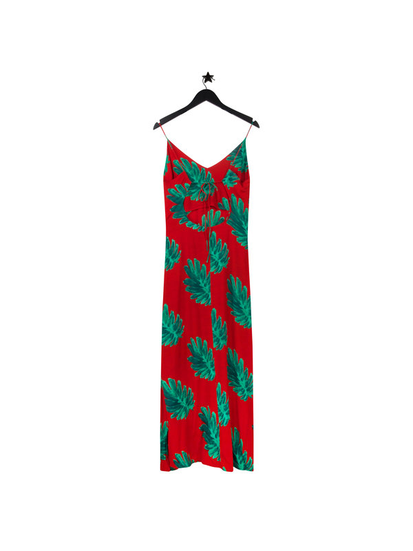 Fabienne Chapot Olivia Dress Red Citrus Leaf