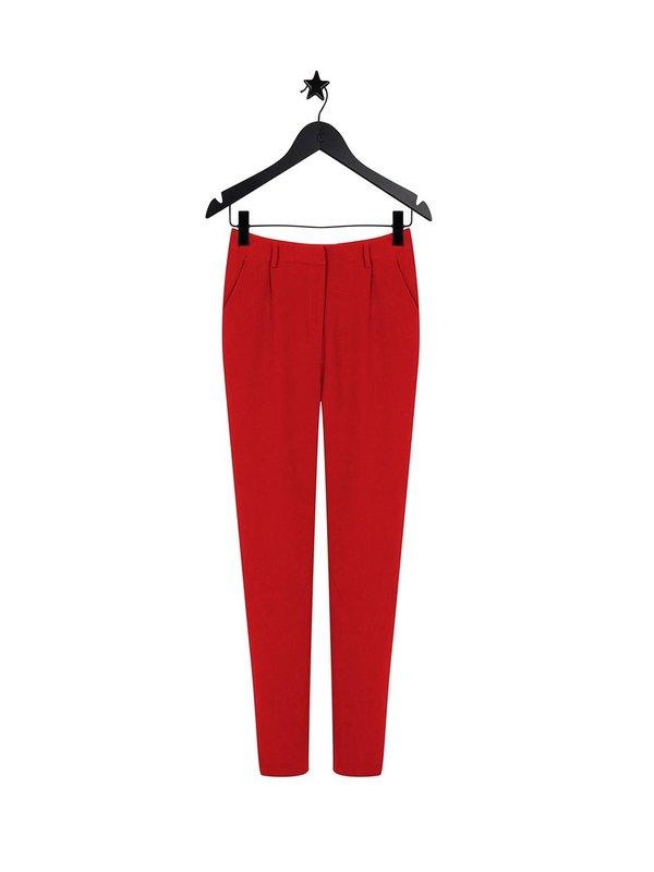 Fabienne Chapot Julia Scarlet Red Trouser