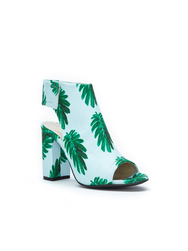 Fabienne Chapot Christie Pump Light Blue-Leaf Green