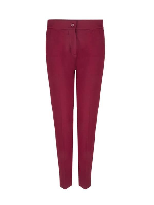 Cato Pants Burgundy