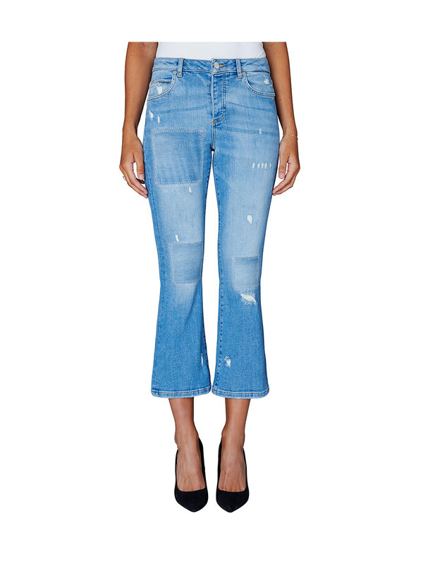 Five Units Irina Ripped Jeans Light Blue