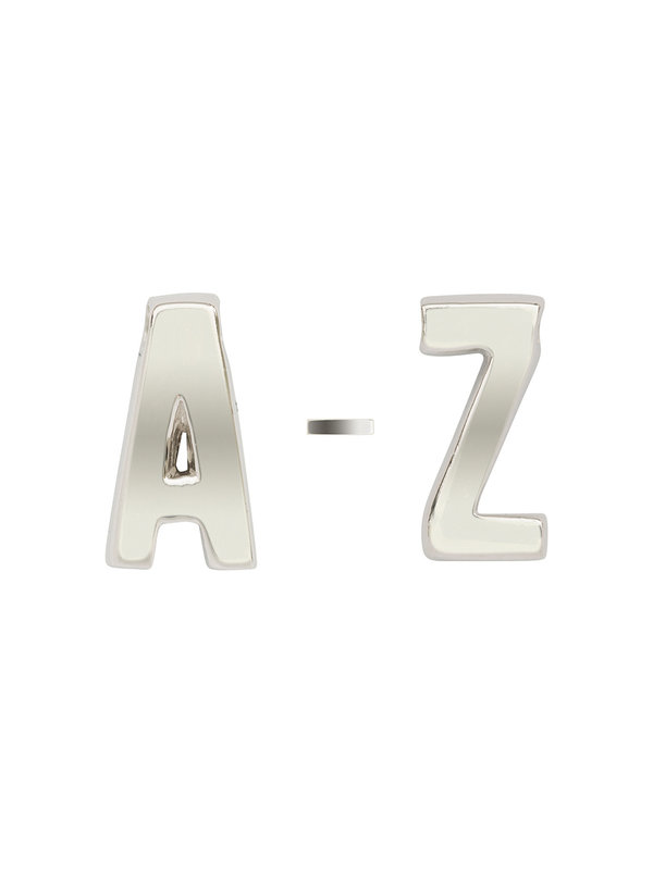 Imotionals A-Z Letters Zilver