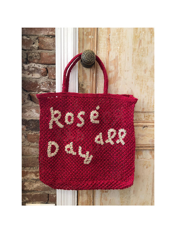 The Jacksons Beach Bag Rosé All Day Red