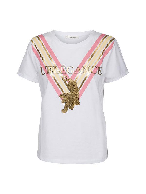 Sofie Schnoor T-Shirt L'elegance WhiteX S