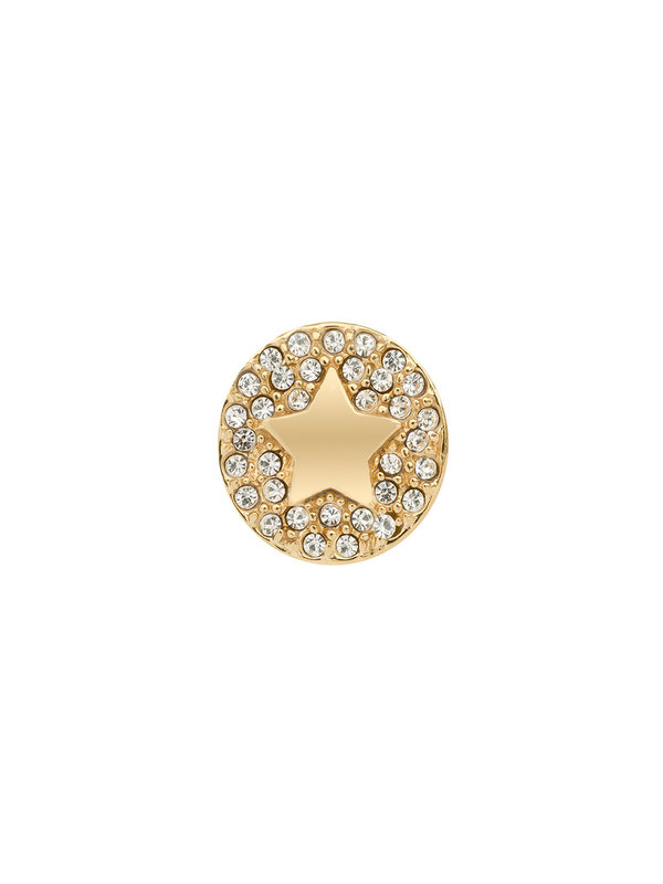 Imotionals Imotionals Ster Swarovski Rond Zilver & Goud