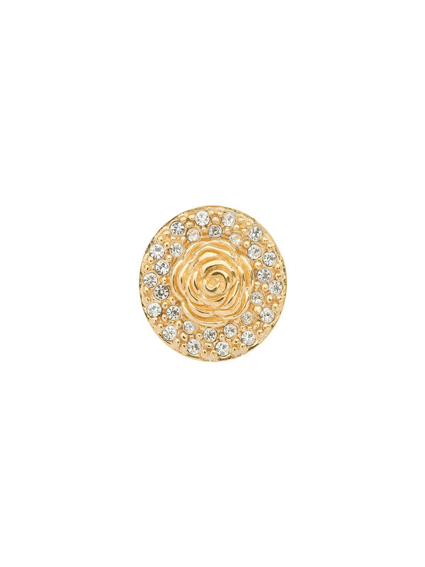 Imotionals Imotionals Roos Swarovski rond Zilver & Goud