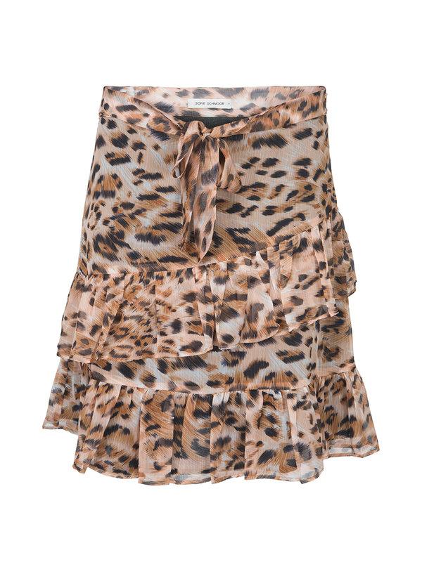 Sofie Schnoor Skirt Leopard Ruffle
