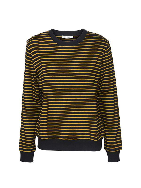 Sofie Schnoor Sweat Knit Black Mustard