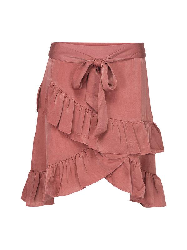 Sofie Schnoor Skirt Ruffle Dusty Rose