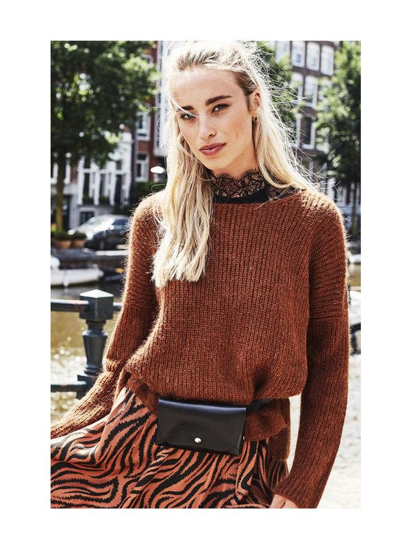 Aaiko Palermo Sweater Hazel