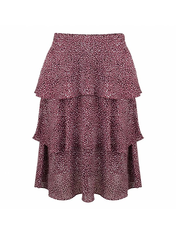 Blake Seven Devon Skirt Black/Red