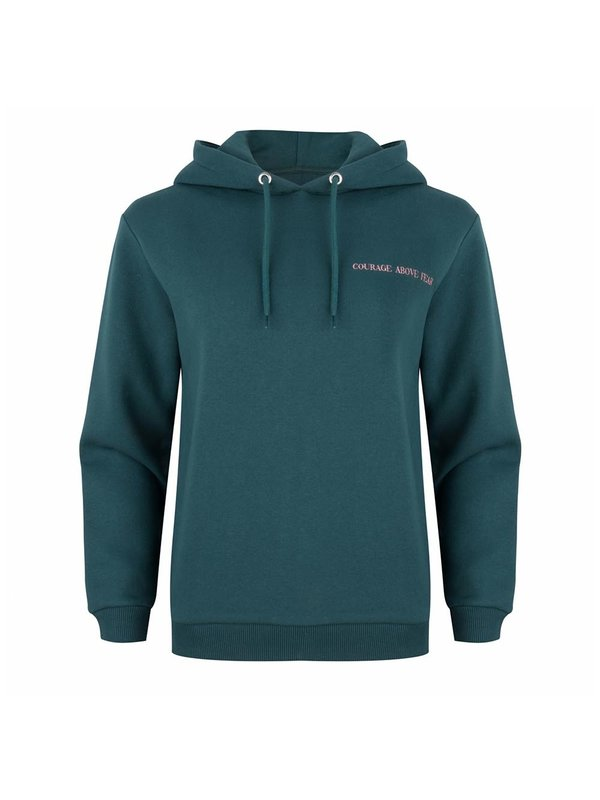 Blake Seven Courage Above Fear Hoody Dark Green