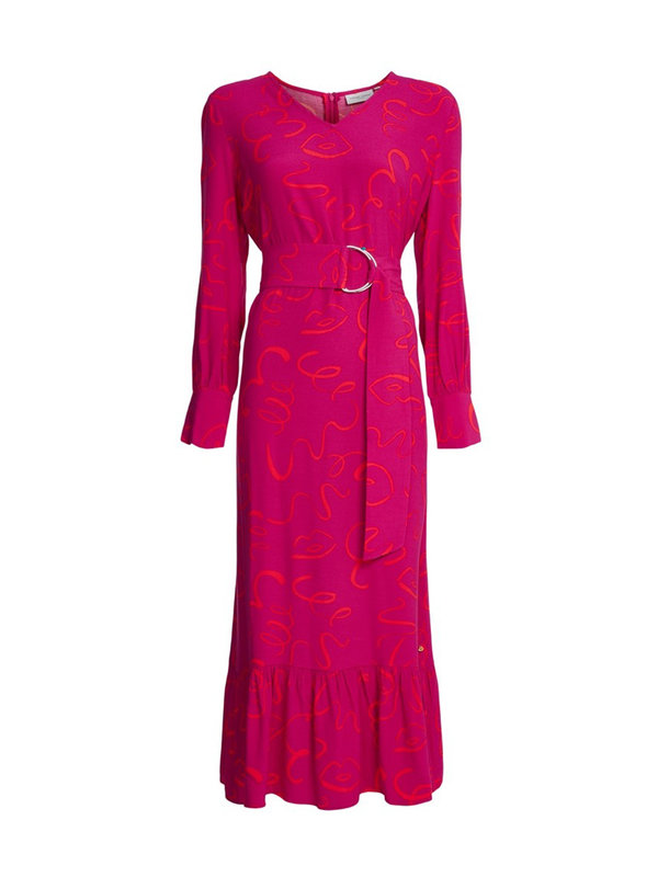 Carlotta Dress Freaking Fuchsia Daytime Disco
