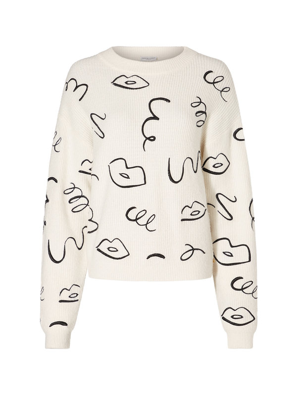 Fabienne Chapot Pullover Off White Daytime Disco Embro