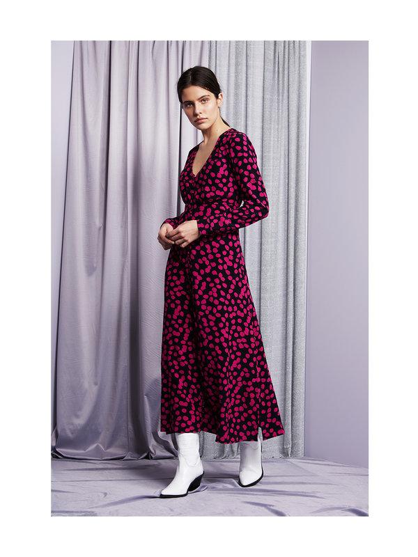 Fabienne Chapot Lewis Dress Black Dolly Dots