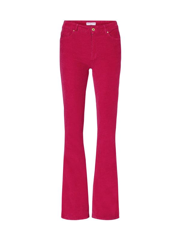 Fabienne Chapot Eva Corduroy Flare Trouser Freaking Fuchsia