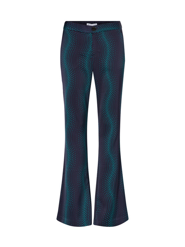 Fabienne Chapot Anna Trouser On The Radio Print