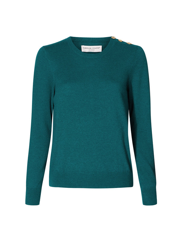 Fabienne Chapot Molly Pullover The Real Teal