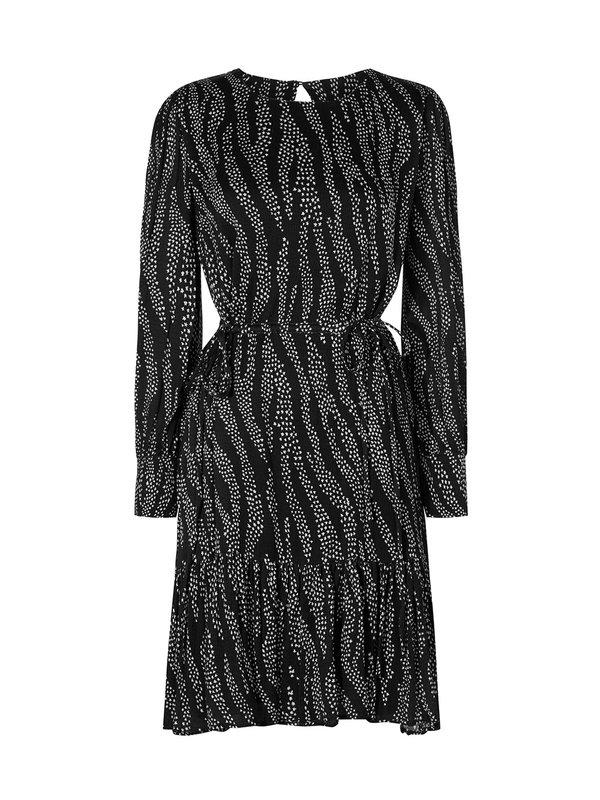 Fabienne Chapot Bonnie Bo Dress Black Stardust Zebra