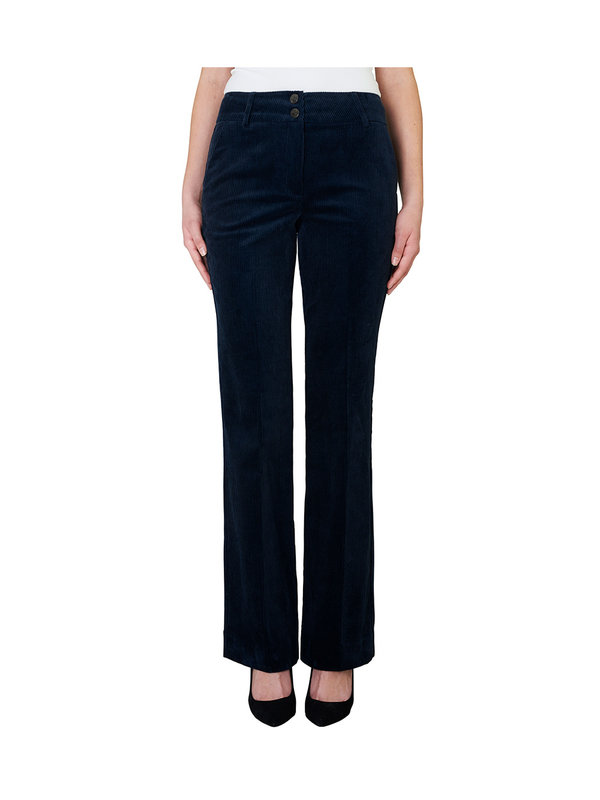 Five Units Clara 624 Long Pants Navy Velveten