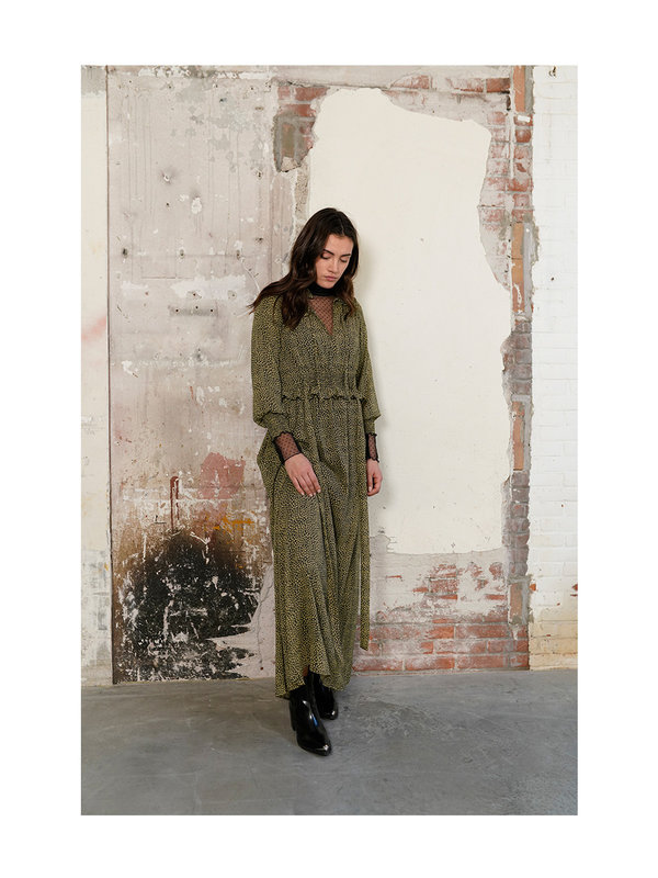 Melt Nomads Smock Dress Stars Pirat Black