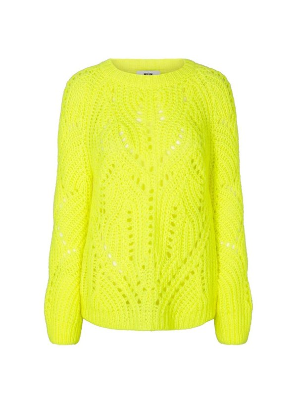 Moliin Fernel Sweater Neon Yellow