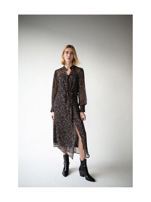Blake Seven Lana Dress Black Gold