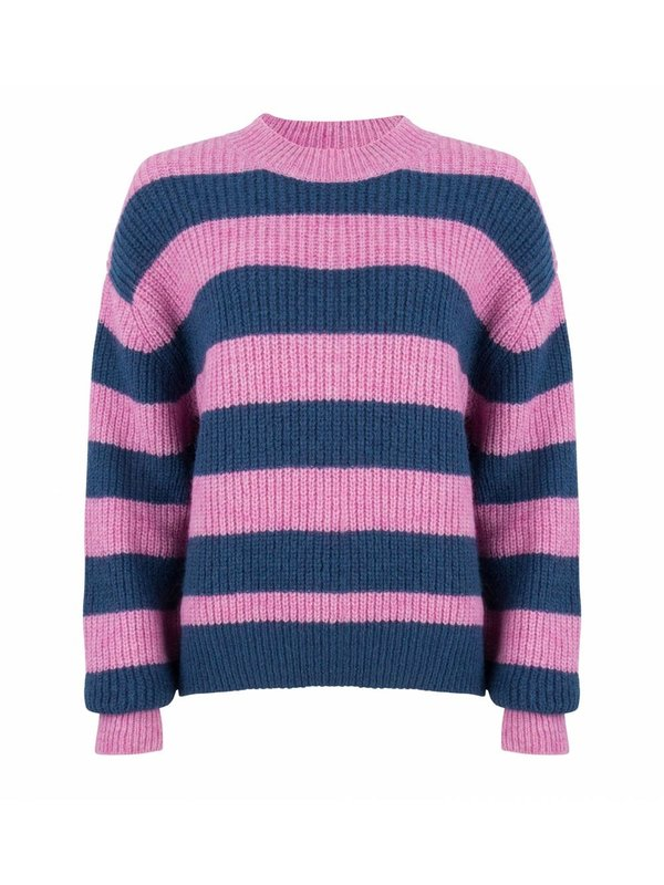 Knit Isabel Pink/Blue