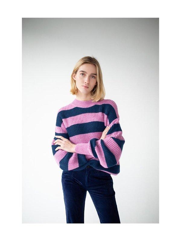 Blake Seven Knit Isabel Pink/Blue