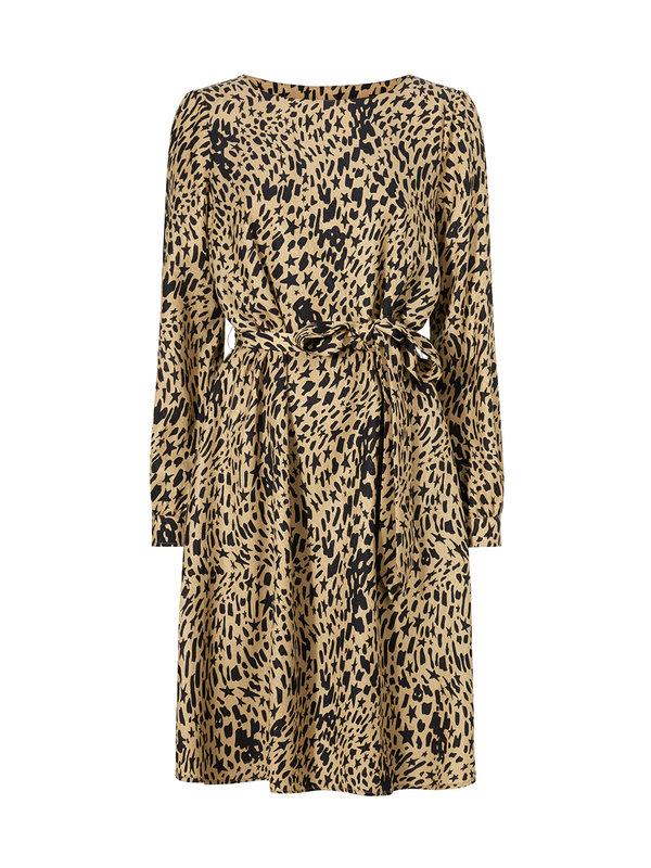 Fabienne Chapot Helen Dress Beige Craze Spot On
