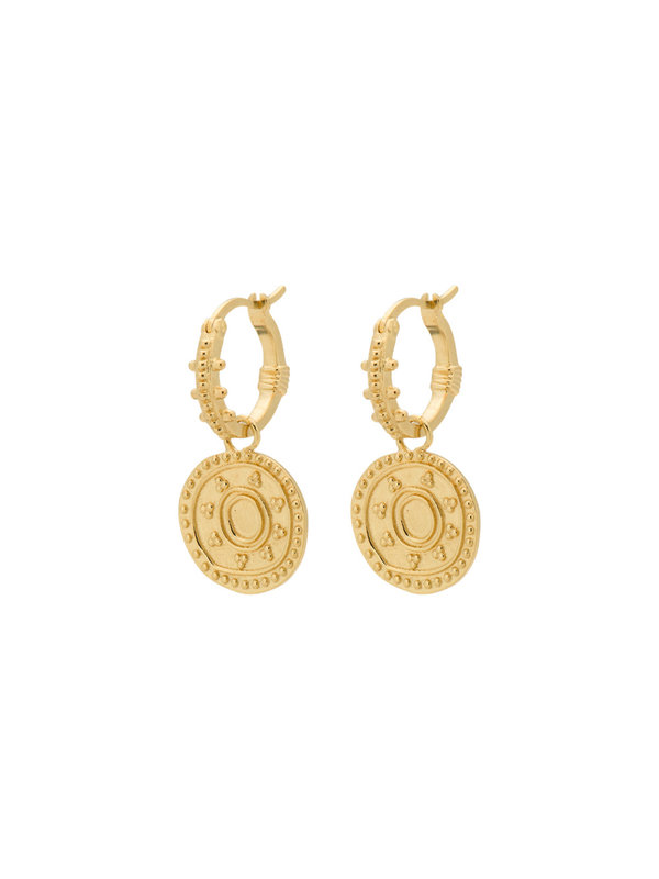 Anna + Nina Cleopatra Ring Earring Gold
