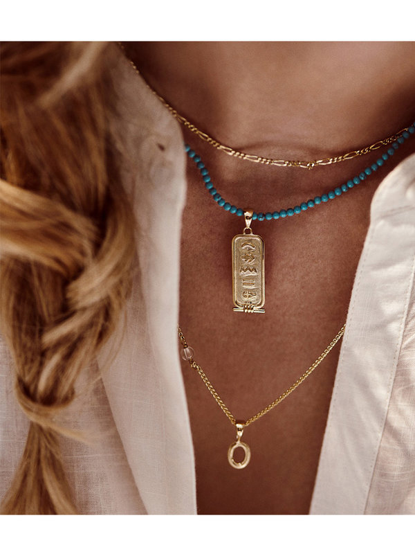 Anna + Nina Ancient Egypt Necklace Charm