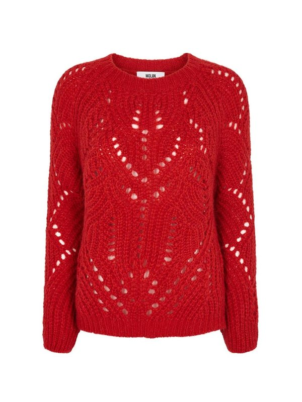 Fernel Sweater Flame Scarlet