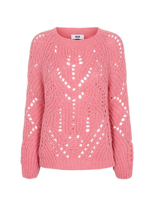 Moliin Fernel Sweater Candy Pink