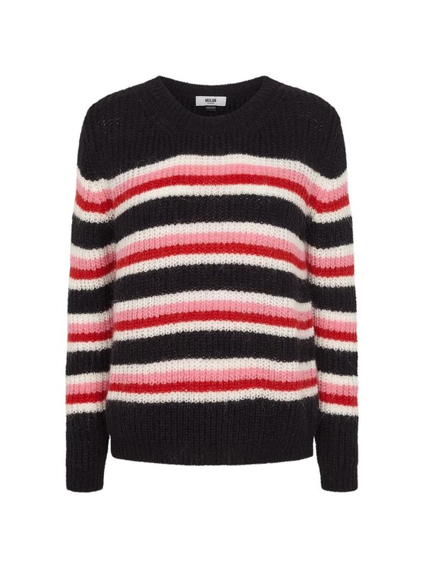 Moliin Jessie Sweater Flame Scarlet