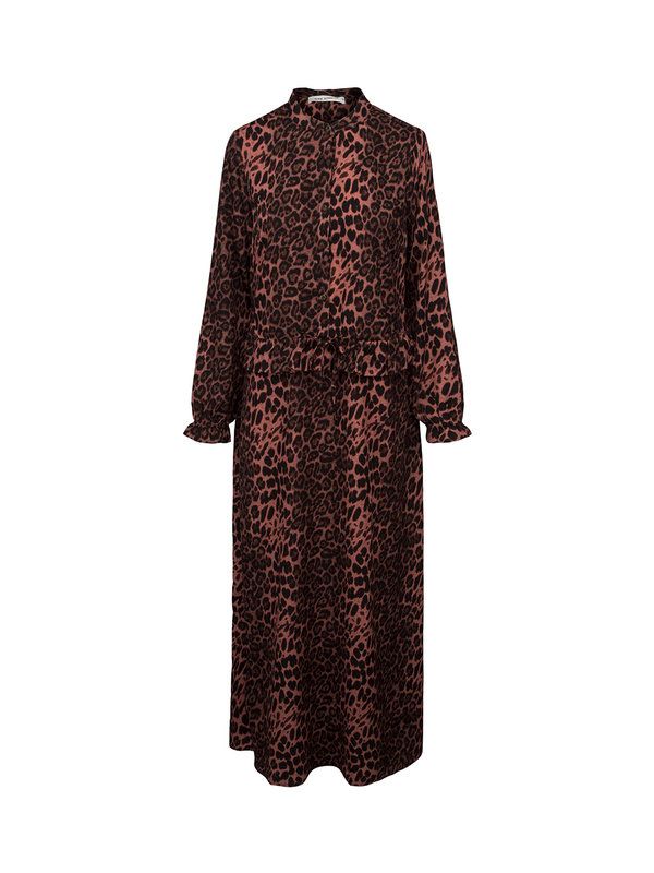Sofie Schnoor Dress Maggie Leopard Dusty Rose