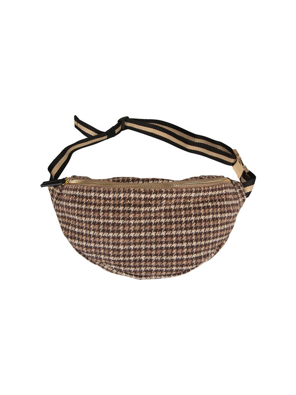 Bumbag Stella Brown Check