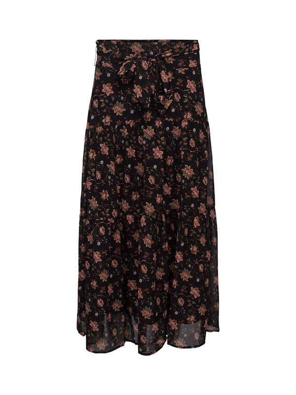 Sofie Schnoor Skirt Solvej Flower Black