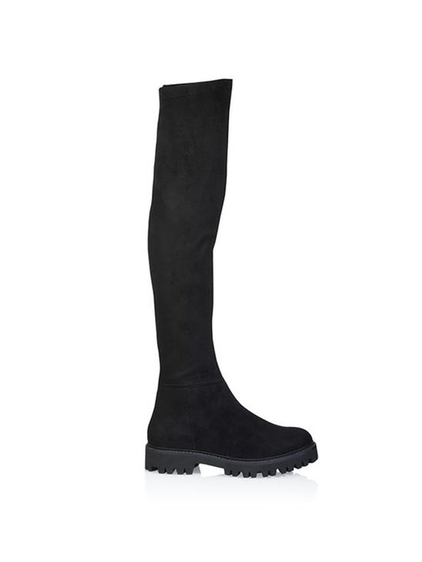 DW\\RS Florence Boots Black Tricot